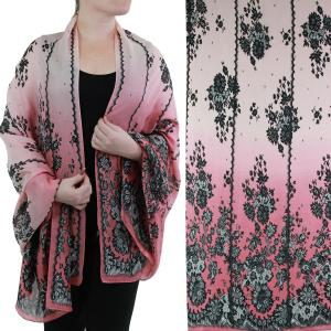 Shawls - Boutique Charmeuse #50 Victorian Raspberry -