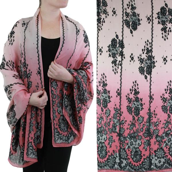 wholesale Shawls - Boutique Charmeuse #50 Victorian Raspberry -