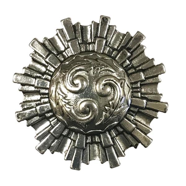 wholesale Magnetic Brooches - Artful Design - Plain Back 602 Aztec Sun Magnetic Brooch -