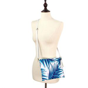 Crossbody Bags & Matching Wristlets Crossbody Bag - 9302 Palm Tree Print Navy -
