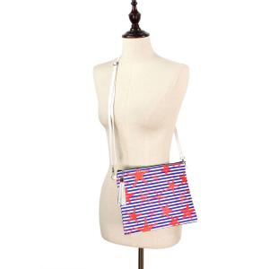 Crossbody Bags & Matching Wristlets Crossbody Bag - 9356 Starfish Print -