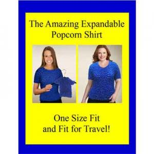 Wholesale Gourmet Popcorn - Short Sleeve Popcorn Sign 8.5