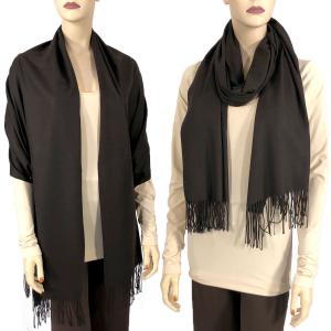 wholesale Cashmere Blend Shawls Solid Java (#5B) -
