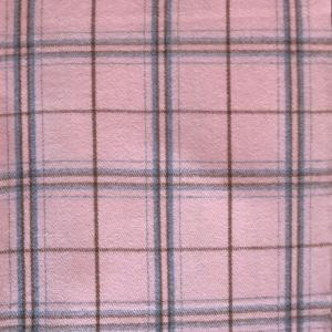wholesale Cashmere Blend Shawls #03 Plaid Pink/Brown/Grey -