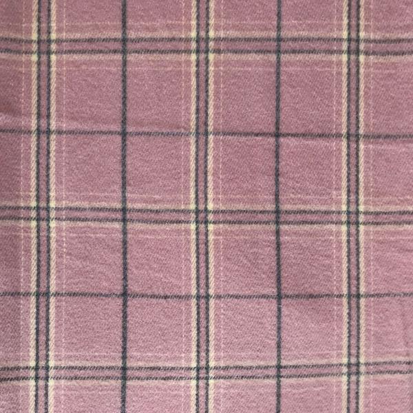 wholesale Cashmere Blend Shawls #04 Plaid Dusty Pink/Grey/Ivory -