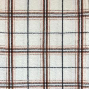 wholesale Cashmere Blend Shawls #09 Plaid Cream/Brown/Black -
