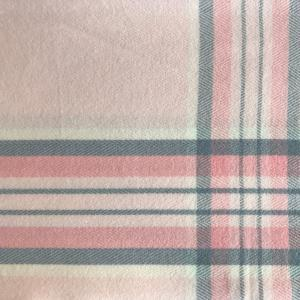 wholesale Cashmere Blend Shawls #10 Plaid Pink/Grey/Ivory -