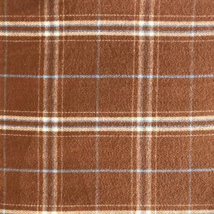 wholesale Cashmere Blend Shawls #12 Plaid Camel/Pale Blue/Ivory -