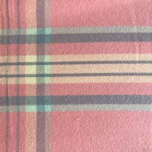 wholesale Cashmere Blend Shawls #14 Plaid Pink/Blue/Ivory -