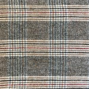 wholesale Cashmere Blend Shawls #20 Plaid Taupe/Black/Burgundy -
