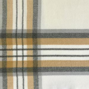 wholesale Cashmere Blend Shawls #23 Plaid Ivory/Camel/Grey -