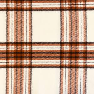 wholesale Cashmere Blend Shawls #16 Plaid Ivory/Camel/Black -
