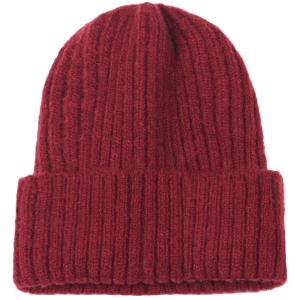 wholesale Knit Beanie - Cuff Style 9551 Burgundy (MB) -