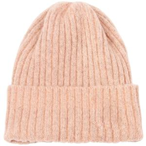 wholesale Knit Beanie - Cuff Style 9551 Pink -