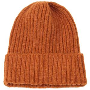 wholesale Knit Beanie - Cuff Style 9551 Rust (MB) -