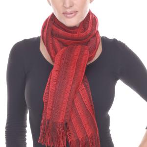 Holiday Gift Ideas Knitted Scarf Red -