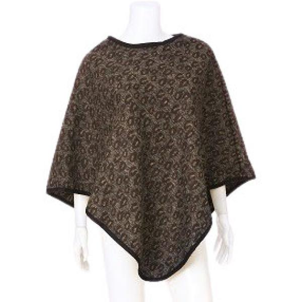 wholesale Banded Wool Feel Ponchos PJC PJC25 E -