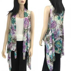 Vests - Pin Hole Design 8161 & 8261 (Style 2) 8261 Purple -
