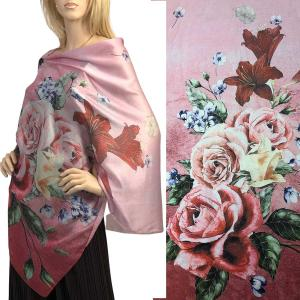 wholesale Satin Charmeuse Shawls with Buttons #15 with Black Buttons -