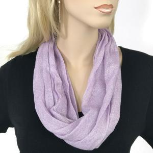 Magnetic Clasp Scarves (Lurex Shimmer) #03 Lilac -