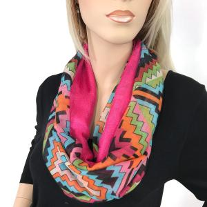 Magnetic Scarves by Caterina #02 Multi Color 026 Pink - Fuchsia -