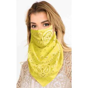 wholesale Protective Mask Scarf Combos C01/C02/C04/C08 1C08 Yellow -