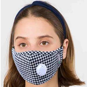 Protective Masks with Respirator + Filter C09 C10 1C09 Black (100% Cotton)w/2 Filters -