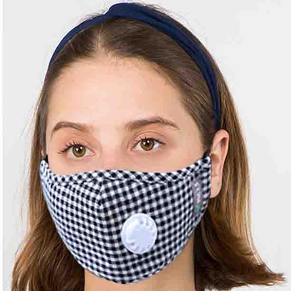 wholesale Protective Masks with Respirator + Filters C09 C10 1C09 Black Check Protective Mask with Respirator + Filters -