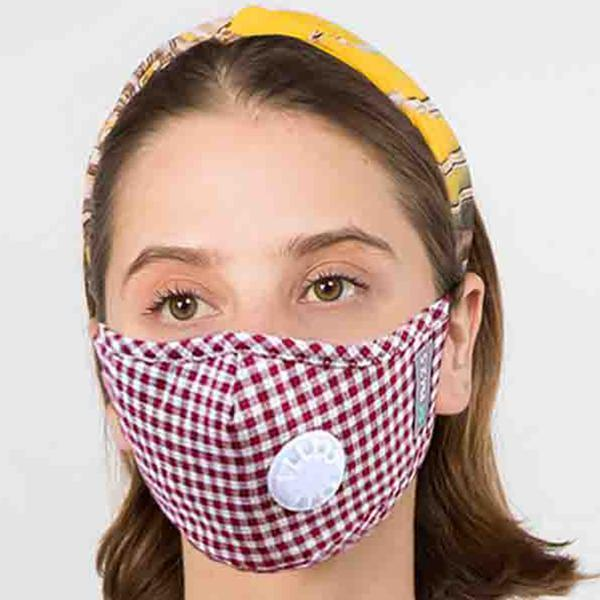 wholesale Protective Masks with Respirator + Filters C09 C10 1C09 Red Check Protective Masks with Respirator + Filters -