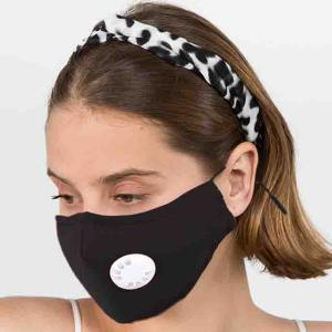Protective Masks with Respirator + Filter C09 C10 1C10 Black (100% Cotton)w/2 Filters -