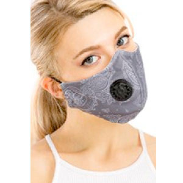 wholesale Protective Masks with Respirator + Filters C09 C10 Paisley Grey 303 Protective Masks with Respirator + Filters -