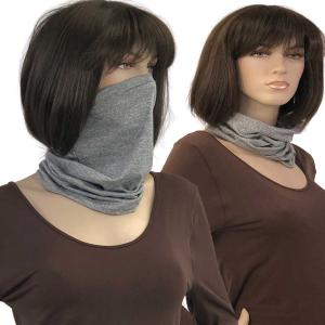 wholesale Protective Masks- Multi Use Tube C18 Light Grey Protective Mask- Multi Use Tube C18 -