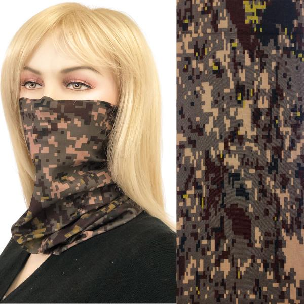 wholesale Protective Masks - Gaiters MC20 Pixelated Army Green Gaiter -