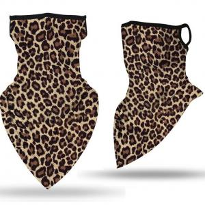 wholesale Protective Masks - Gaiters #13 Leopard with Earloops -