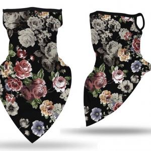 wholesale Protective Masks - Gaiters #8 Shadow Floral with Earloops -