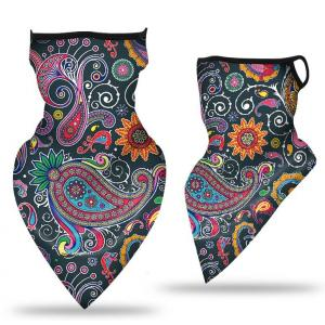 wholesale Protective Masks - Gaiters #30 Paisley Purple with Earloops -