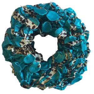 wholesale Satin (Jelly Donut) Coin Scrunchies #03 -