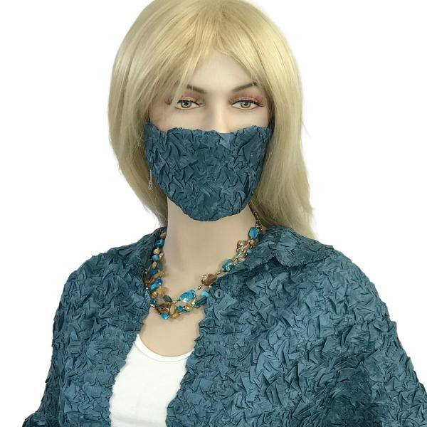 wholesale Protective Masks - Origami Origami Mask - Slate Teal - One Size Fits All