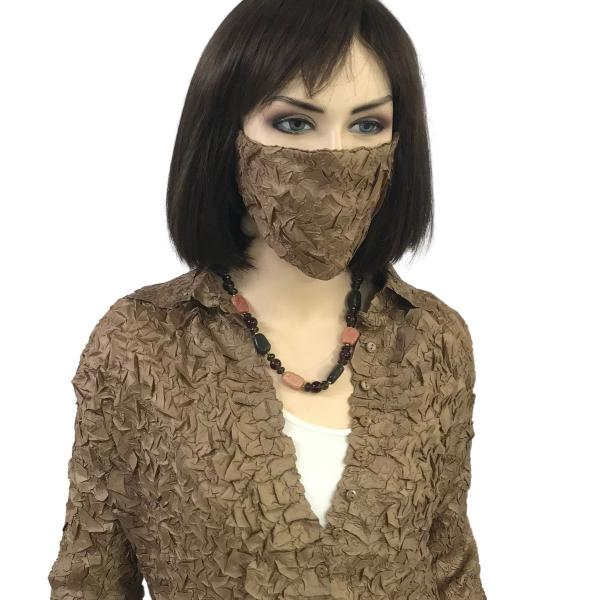 wholesale Protective Masks - Origami Origami Mask - Bronze - One Size Fits All