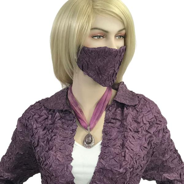 wholesale Protective Masks - Origami Origami Mask - Dusty Purple - One Size Fits All