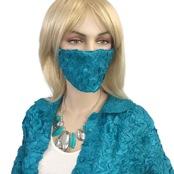 wholesale Protective Masks - Origami Origami Mask - Teal - One Size Fits All