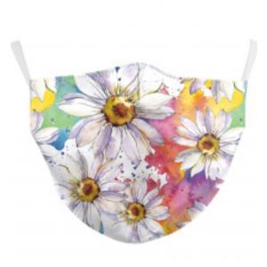 wholesale Protective Masks by Jessica with Filter Pocket #9-22 Daisies - Jessica w/ Filter Pocket -