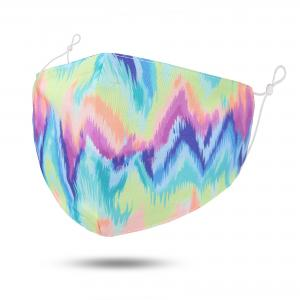 wholesale Protective Masks by Jessica with Filter Pocket #9-36 Angled Tie Dye - Jessica w/ Filter Pocket -