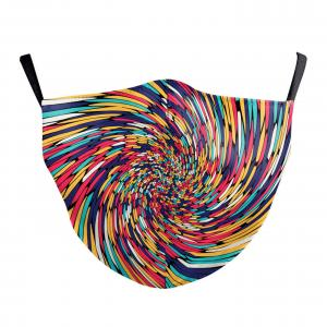 #9-54 Colorful Vortex - Jessica w/ Filter Pocket -