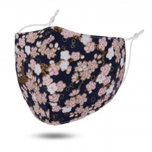 wholesale Protective Masks by Jessica with Filter Pocket #6-03 Midnight Blossoms - Jessica w/ Filter Pocket -