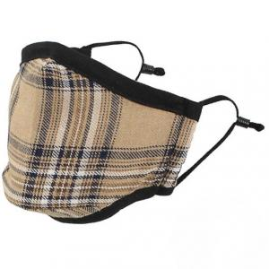 wholesale Protective Masks by Max - Tartan Plaids Classic Tartan Beige/Brown/Black - One Size Fits All