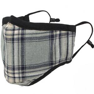 wholesale Protective Masks by Max - Tartan Plaids Classic Tartan Silver/Beige/Black - One Size Fits All