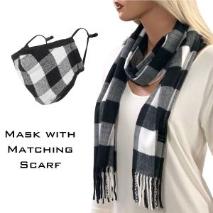 Wholesale  Buffalo Plaid Black/White -