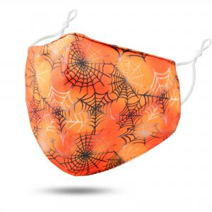 #114-3 Webs - Jessica w/ Filter Pocket - Halloween Theme Masks -