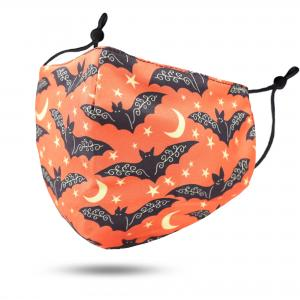 #114-4 Bats - Jessica w/ Filter Pocket - Halloween Theme Masks -